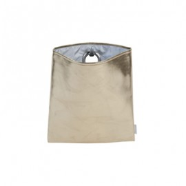 HANGBAG Lacq Gold